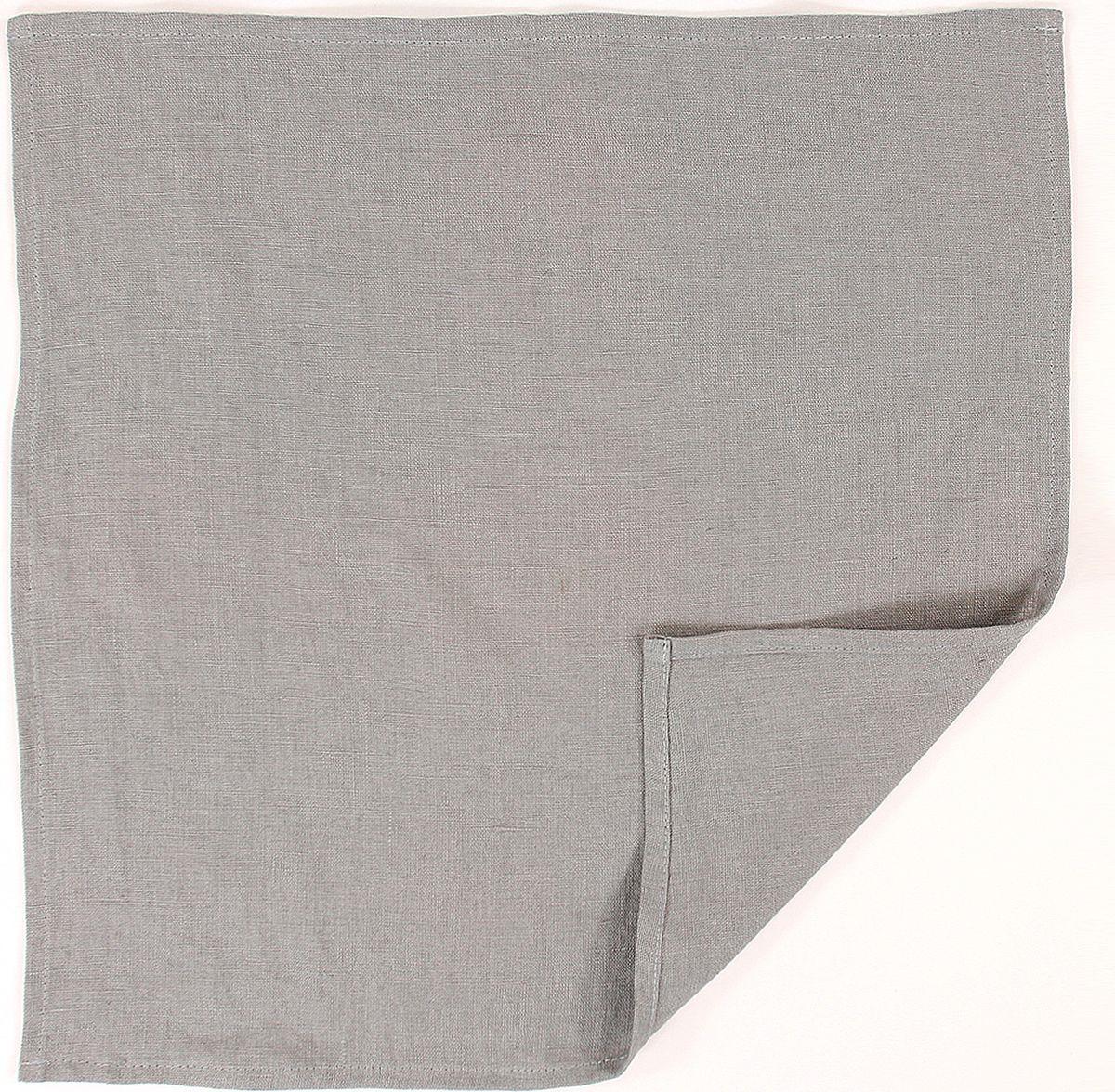 Салфетка столовая Tkano Essential, TK18-NA0009, серый, 45 x 45 см