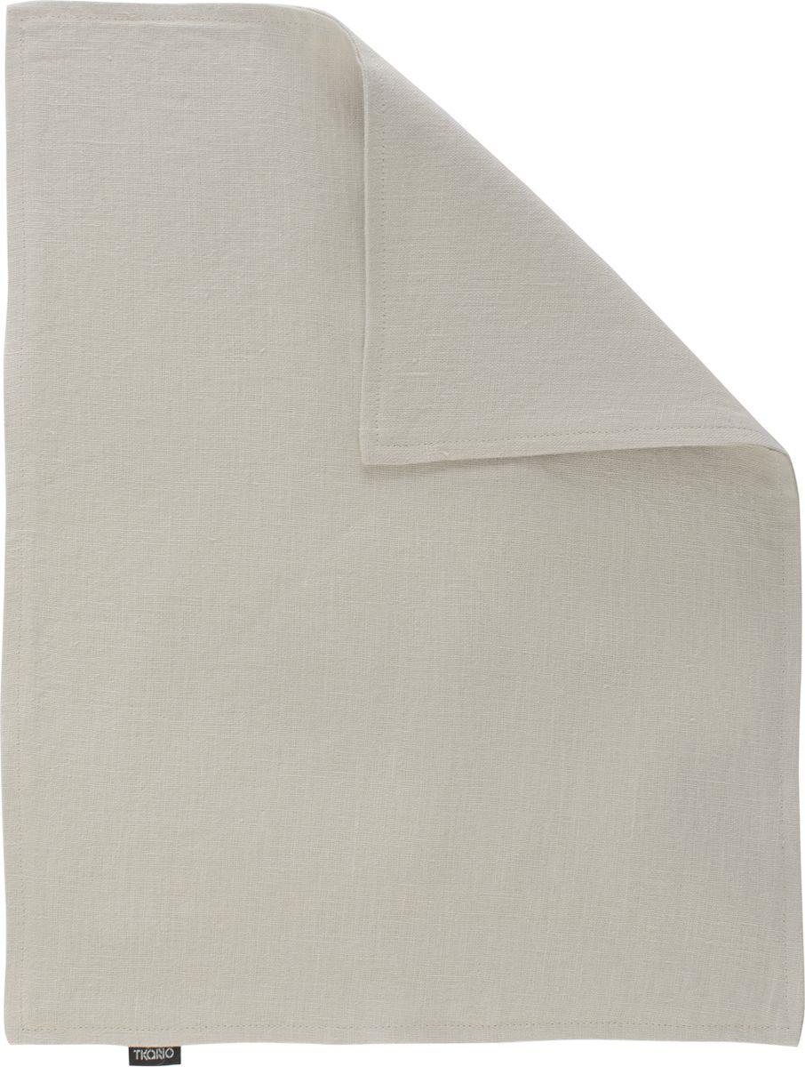 Салфетка столовая Tkano Essential, TK18-PM0007, двухсторонняя, бежевый, 35 x 45 см