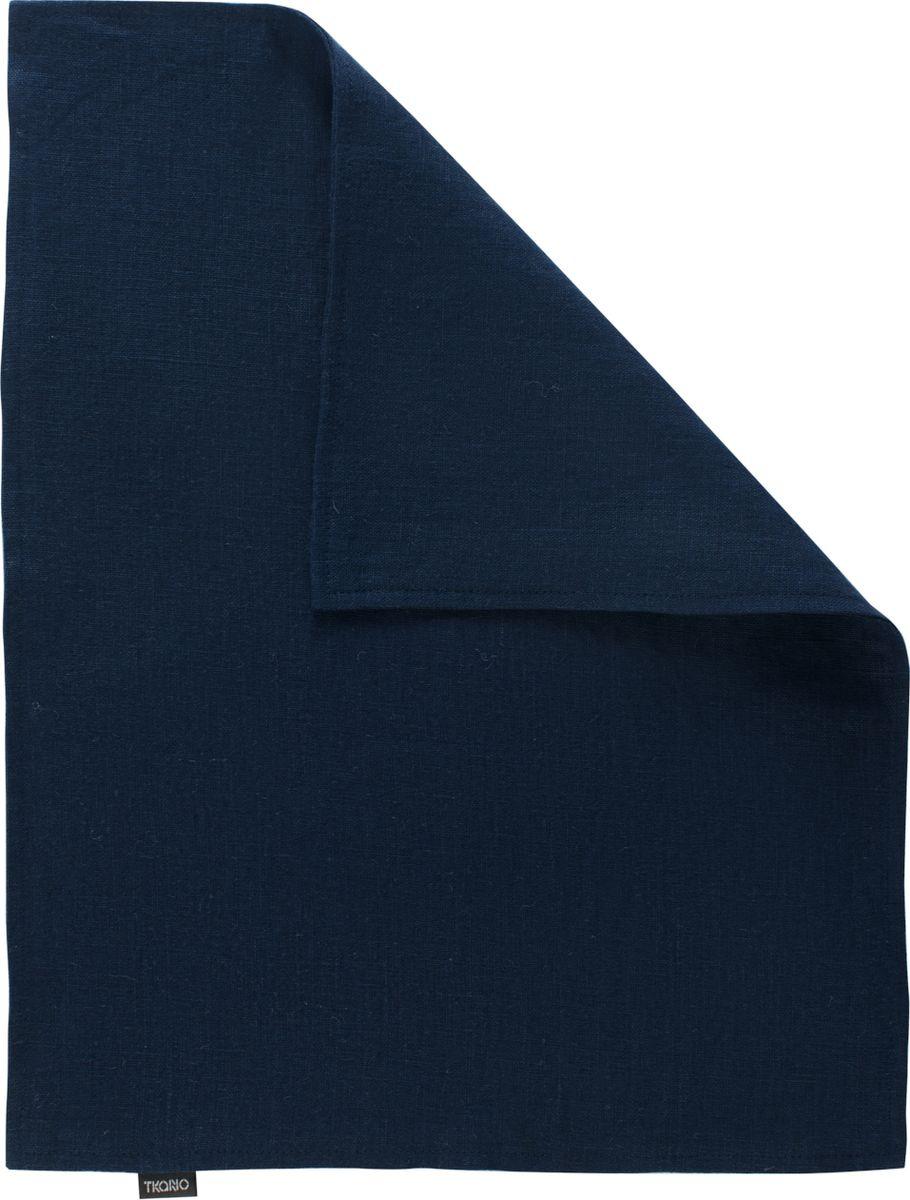 Салфетка столовая Tkano Essential, TK18-PM0009, двухсторонняя, темно-синий, 35 x 45 см