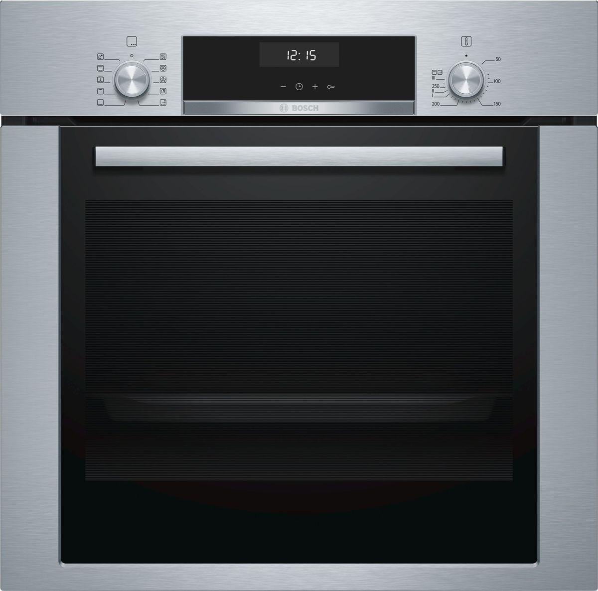 Духовой шкаф Bosch Serie 6, HBJ354AS0Q, серебристый