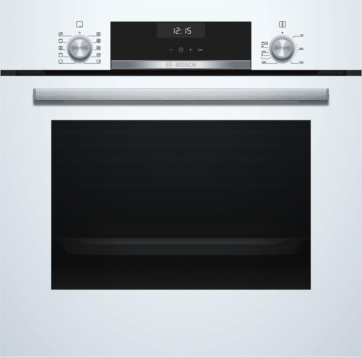 Духовой шкаф Bosch Serie 6, HBJ558YW0Q, белый