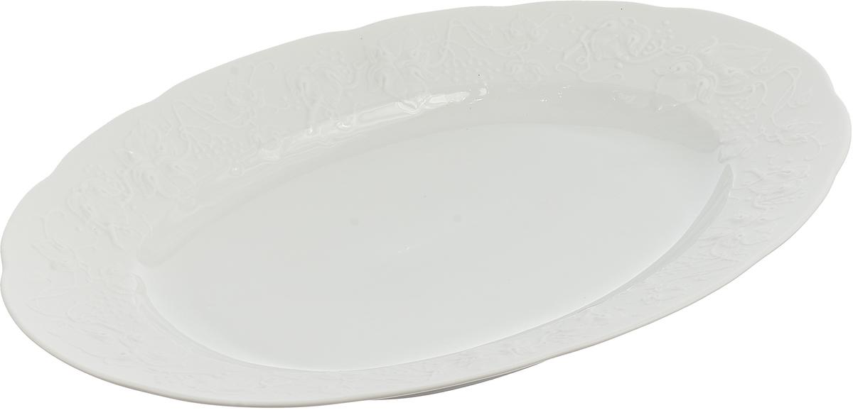 Блюдо La Rose des Sables Blanc, 3101236, белый, диаметр 36 блюдо la rose des sables blanc 3101824 белый диаметр 24