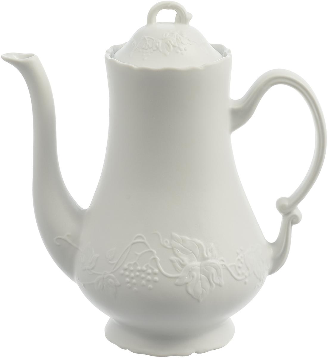 Кофейник La Rose des Sables Blanc, 3102913, белый, 1,3 л чайник заварочный la rose des sables bleu sky 1 7 л