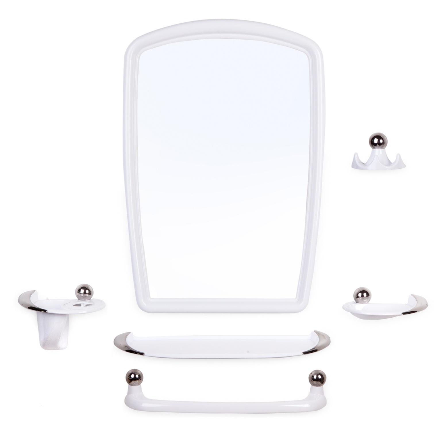 Набор для ванной комнаты Berossi Набор для ванной , НВ 10501001, белый цены онлайн