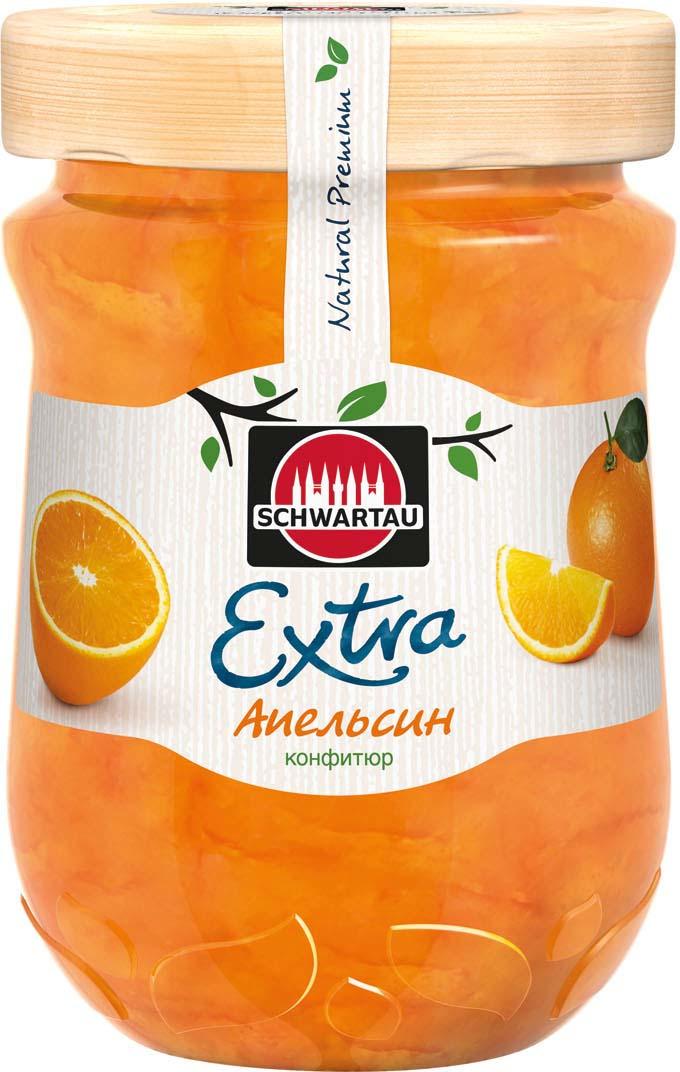 Конфитюр Schwartau Extra апельсин, 340 г