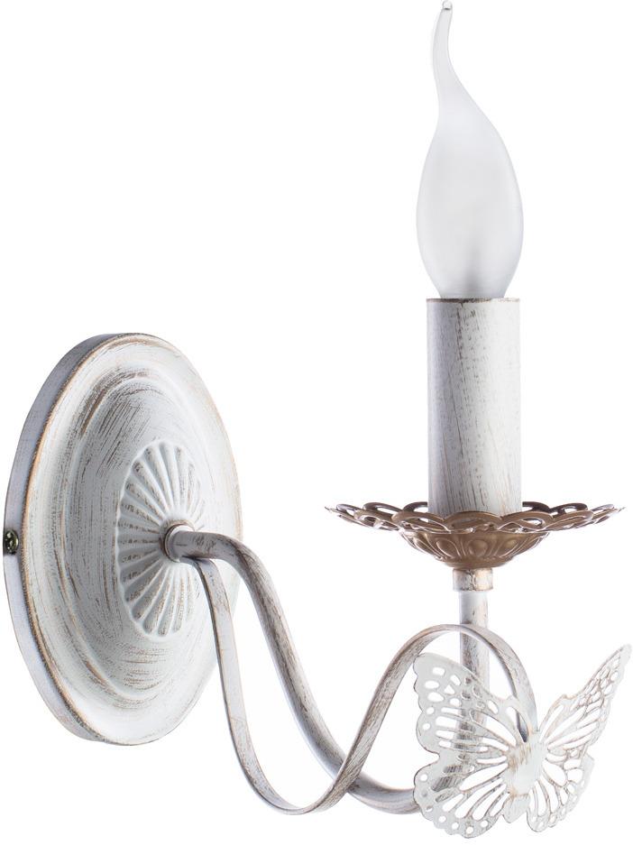 цена на Светильник настенный Arte Lamp ALI A6114AP-1WG