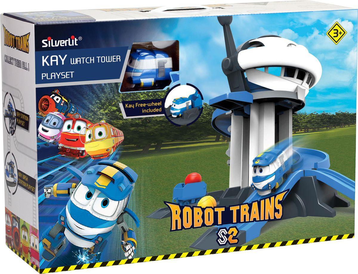 Игровой набор Robot Trains Дозорная башня, 80189 все цены