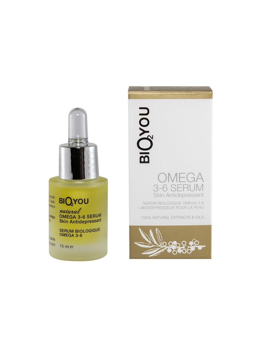 Сыворотка для лица BIO2YOU натуральная омега 3-6, антидепрессант для кожи, 75