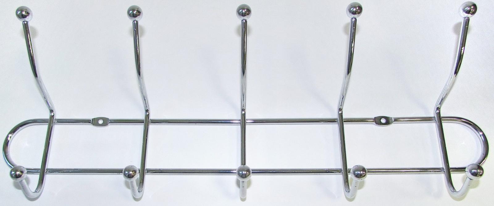Вешалка настенная BRANTE пятирожковая, 111210 цена