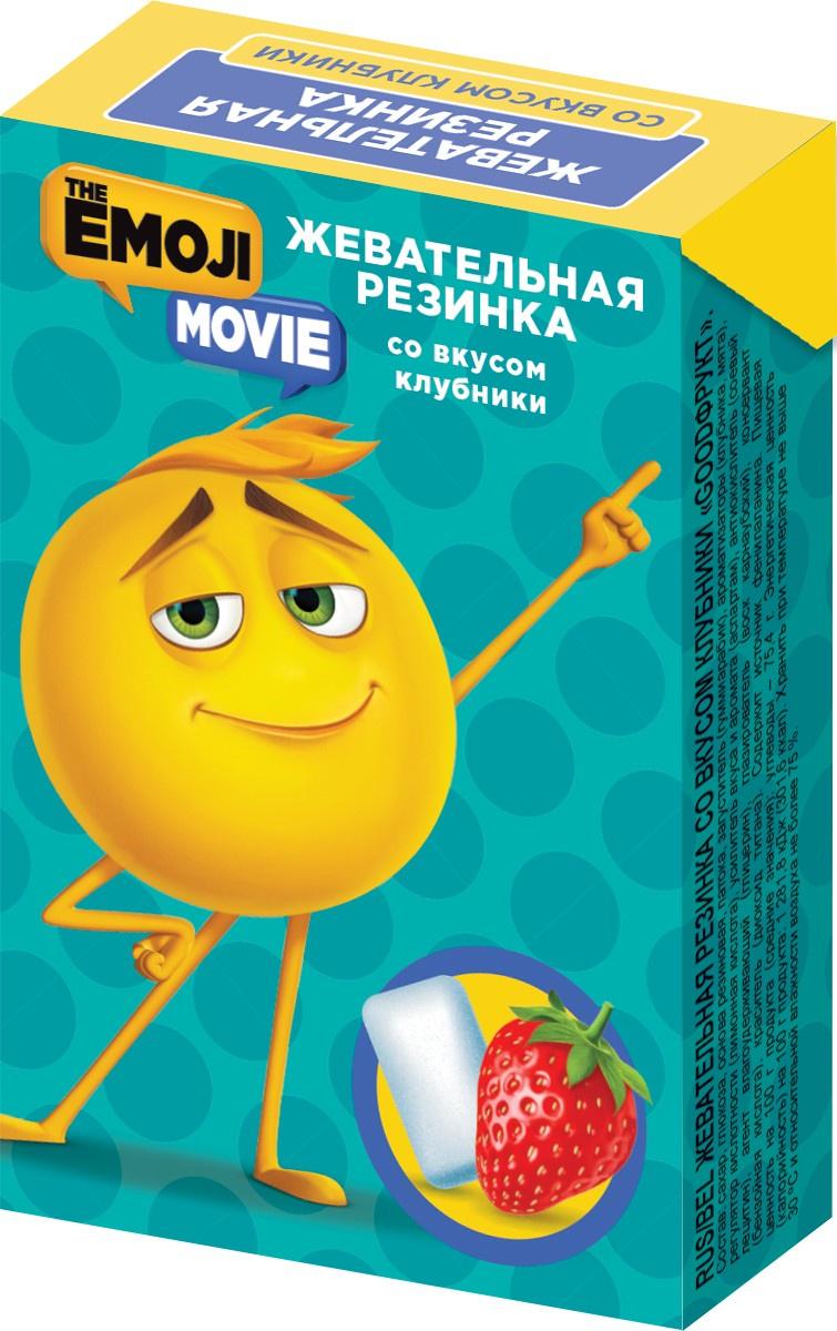 Фото - Жевательная резинка Конфитрейд EMOJII жевательная резинка конфитрейд emojii без сахара 12 шт по 14 г
