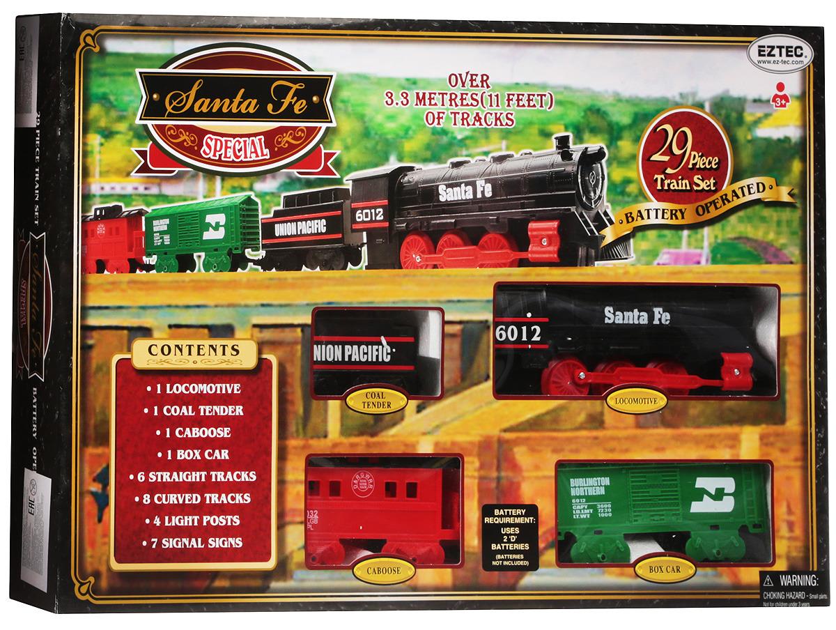 Железная дорога EZTEC Santa Fe Special Train Set закариас м возвращение диптихи дорога