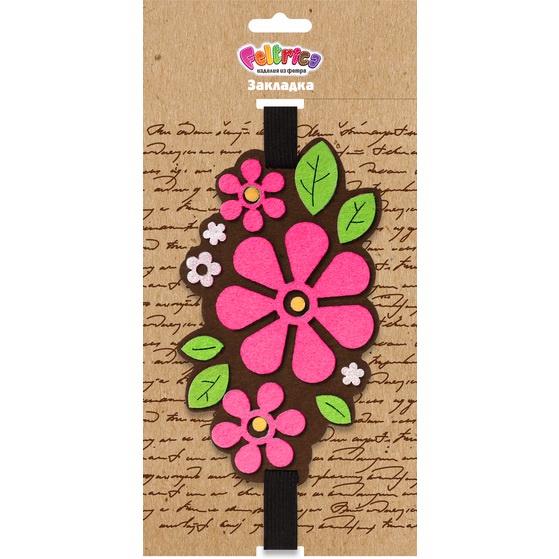 <b>Закладка Feltrica</b> Цветы — купить в интернет-магазине OZON с ...