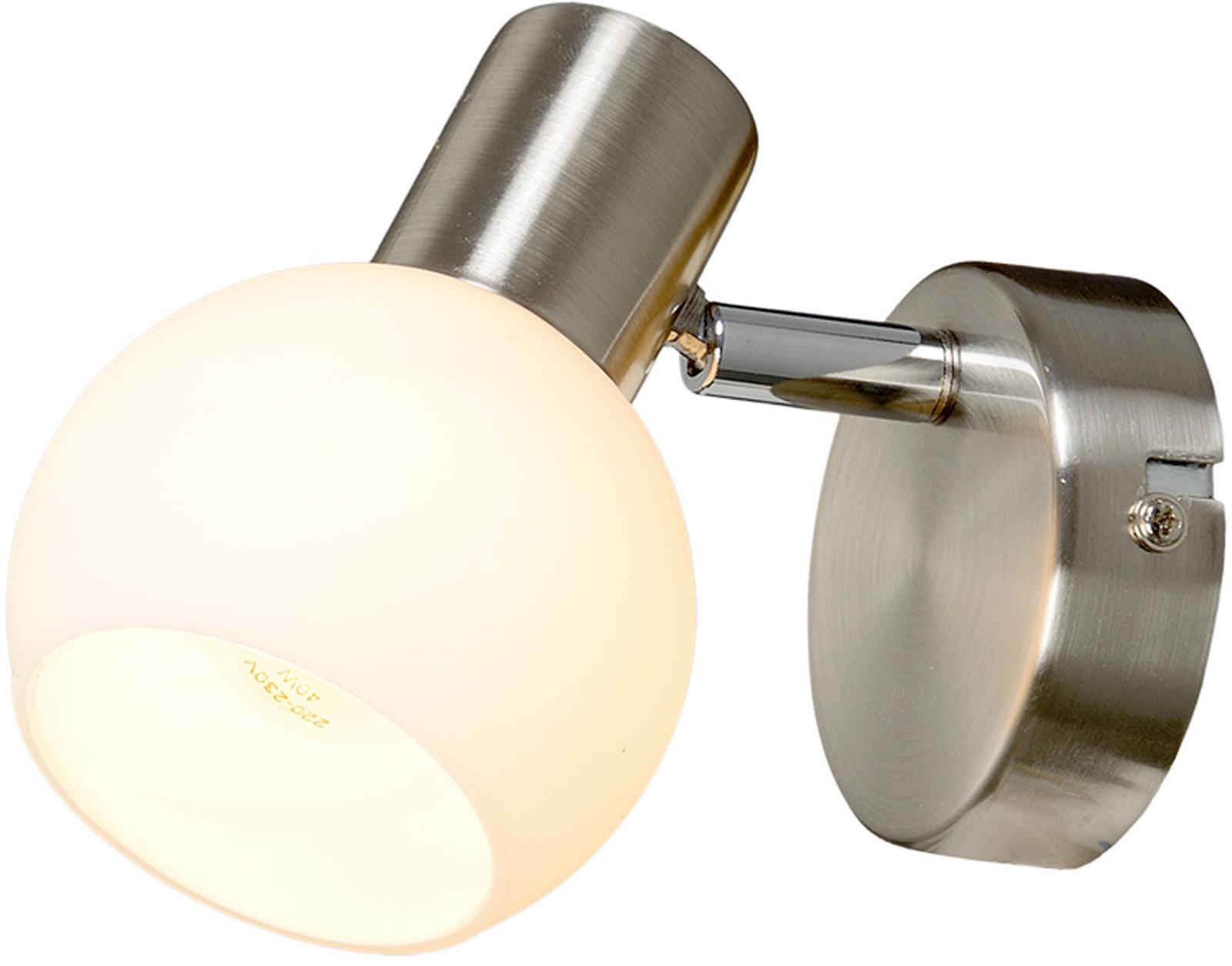 Настенно-потолочный светильник МАКСИСВЕТ 4651, 6-4651-1-ST E14, 125*90*135, 6-4651-1-ST E14, серебристый максисвет потолочная люстра максисвет design геометрия 1 1696 4 cr y led