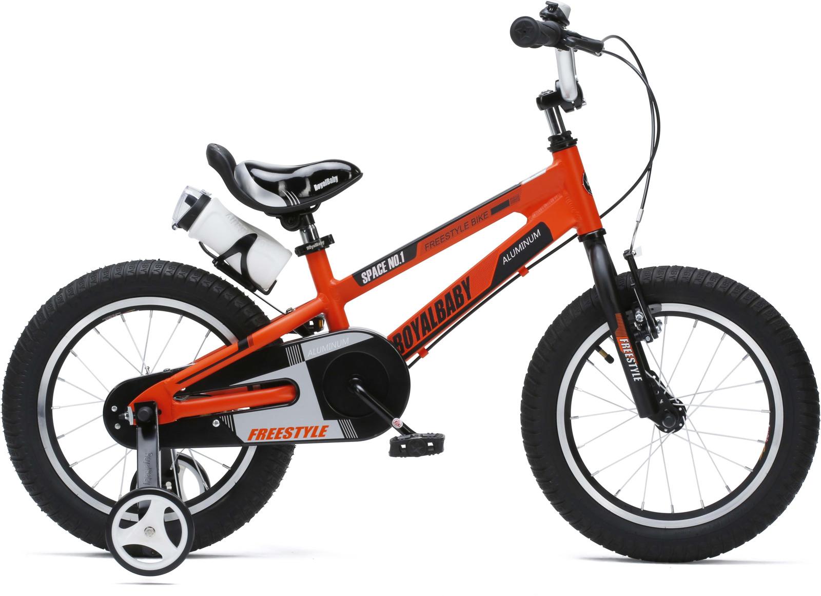 Велосипед Royal Baby Freestyle Space №1 16, RB16-17, оранжевый
