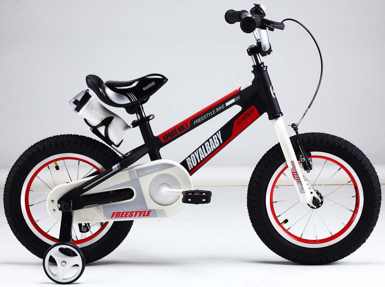 Велосипед Royal Baby Freestyle Space №1 16, RB16-17, черный