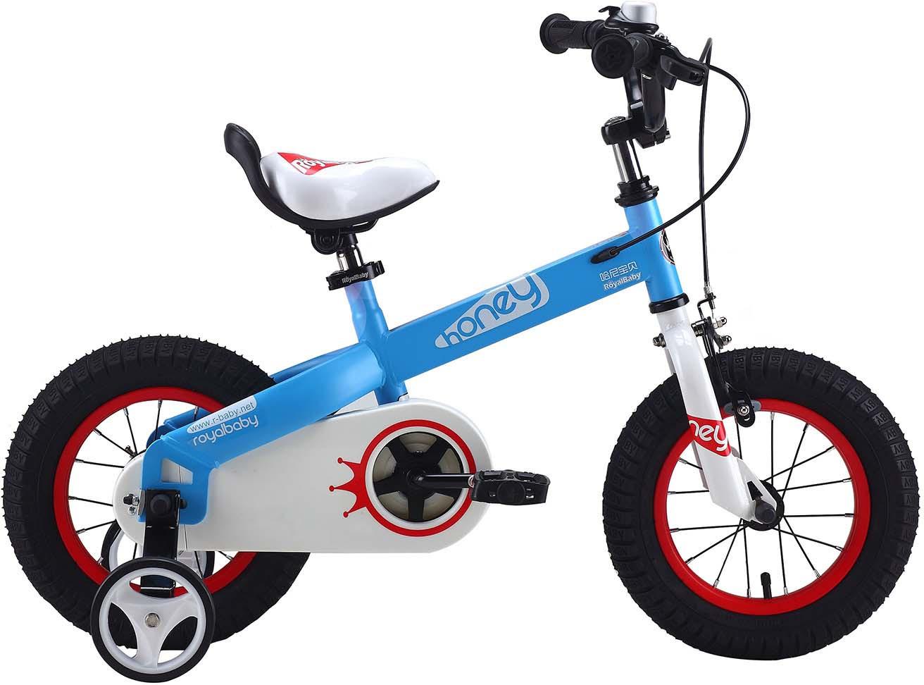 Велосипед Royal Baby Honey Steel 14, RB14-15 HONEY, голубой велосипед для организма