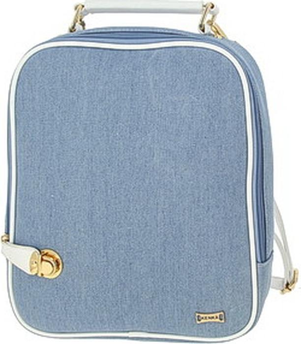 Сумка для девочки KENKA, голубой, белый. BS_9324_blue-white цены онлайн