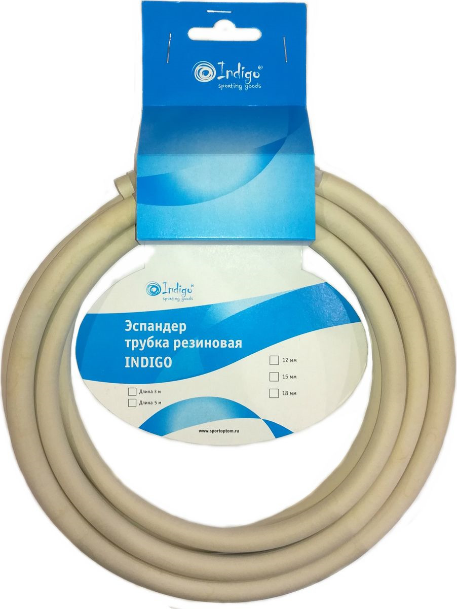 Эспандер-трубка Indigo SM-076, 00022202, диаметр 18 мм цена