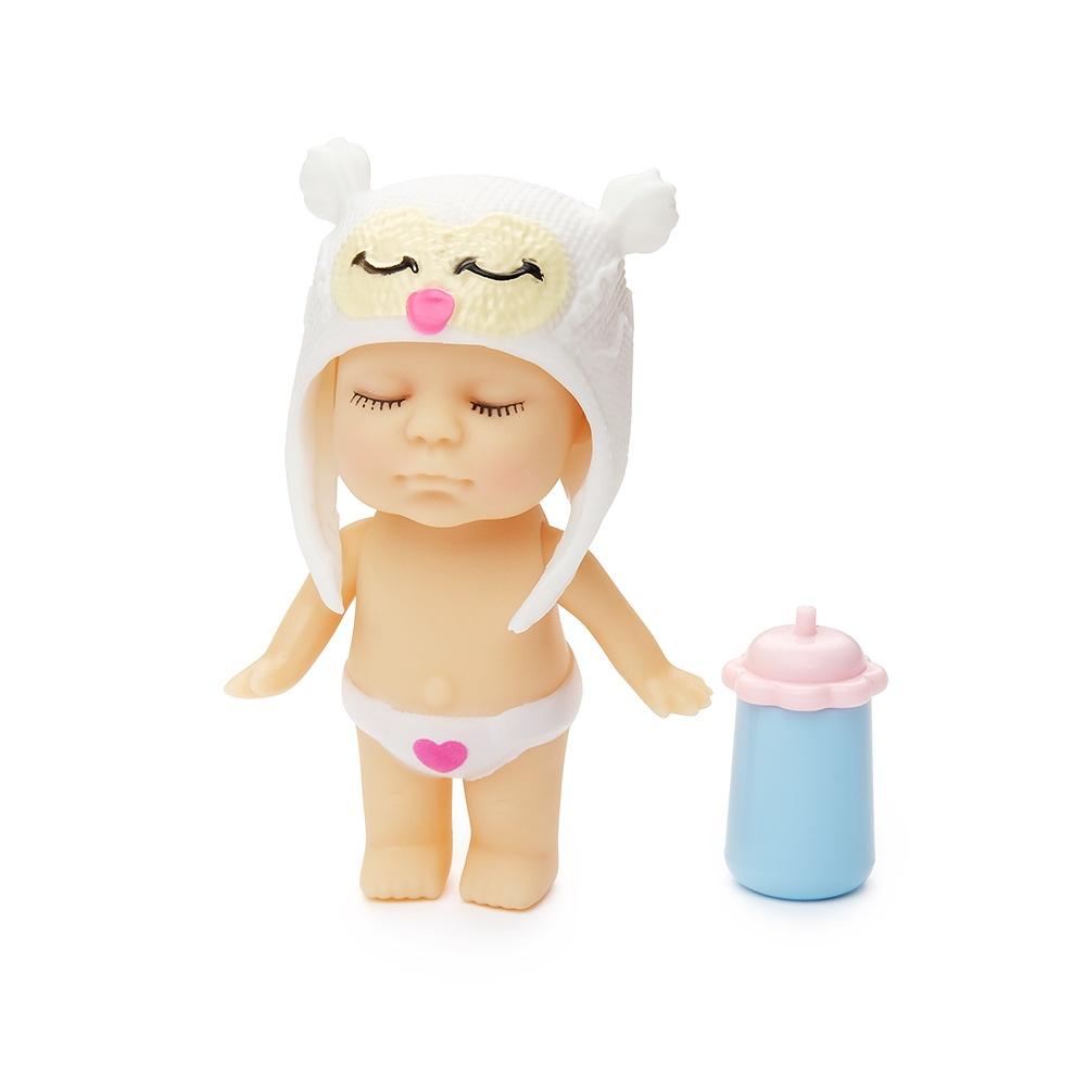 Игровой набор с куклой FindusToys Infant Doll, FD-35-008/8 белый, желтый игровой набор с куклой findustoys infant doll fd 35 008 1 фиолетовый