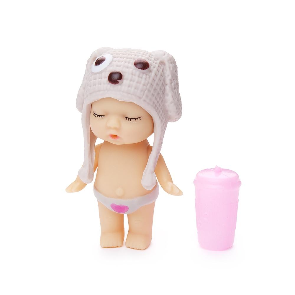 Игровой набор с куклой FindusToys Infant Doll, FD-35-008/2 серый игровой набор с куклой findustoys infant doll fd 35 008 6 белый