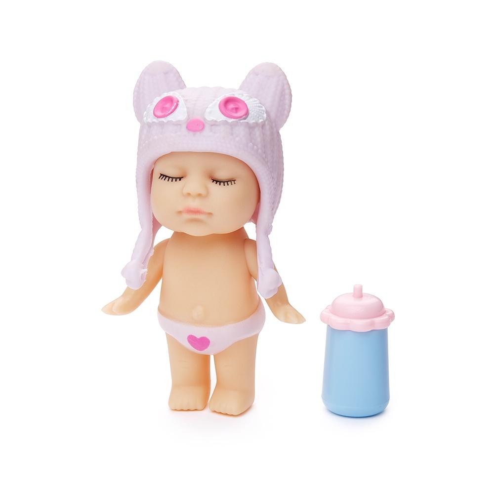 Игровой набор с куклой FindusToys Infant Doll, FD-35-008/1 фиолетовый игровой набор с куклой findustoys infant doll fd 35 008 6 белый