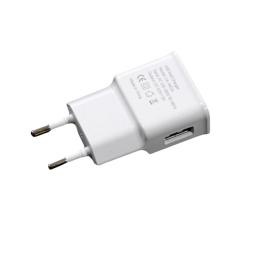 Зарядное устройство VCOM AC EU Plug 100-220V → USBx1 Port DC5V, 2A M014 CA-M014, CA-M014 brand new original adda ab07005hx07kb00 dc5v 0 40a qat10 notebook fan