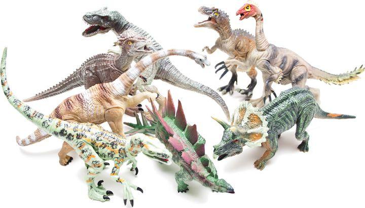 Набор фигурок Phantom Cretaceous, 4403-8, 8 шт игровые фигурки happy kin набор динозавров 41093