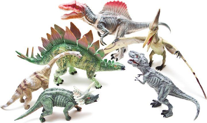 Набор фигурок Phantom Cretaceous, 4403-1, 6 шт игровые фигурки happy kin набор динозавров 41093