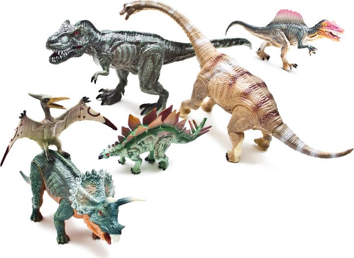 Набор фигурок Phantom Cretaceous, FL6023536, 6 шт