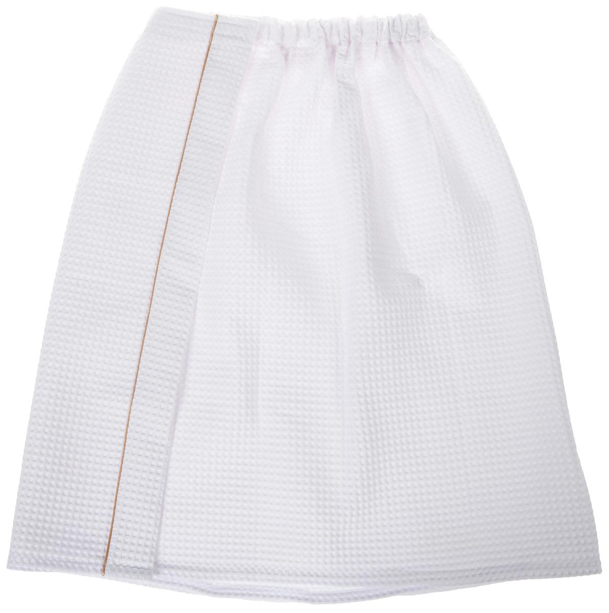 Килт для бани и сауны Доктор Баня, универсальный, цвет: белый, 150 х 70 см шапка для бани и сауны доктор баня универсальная цвет темно серый
