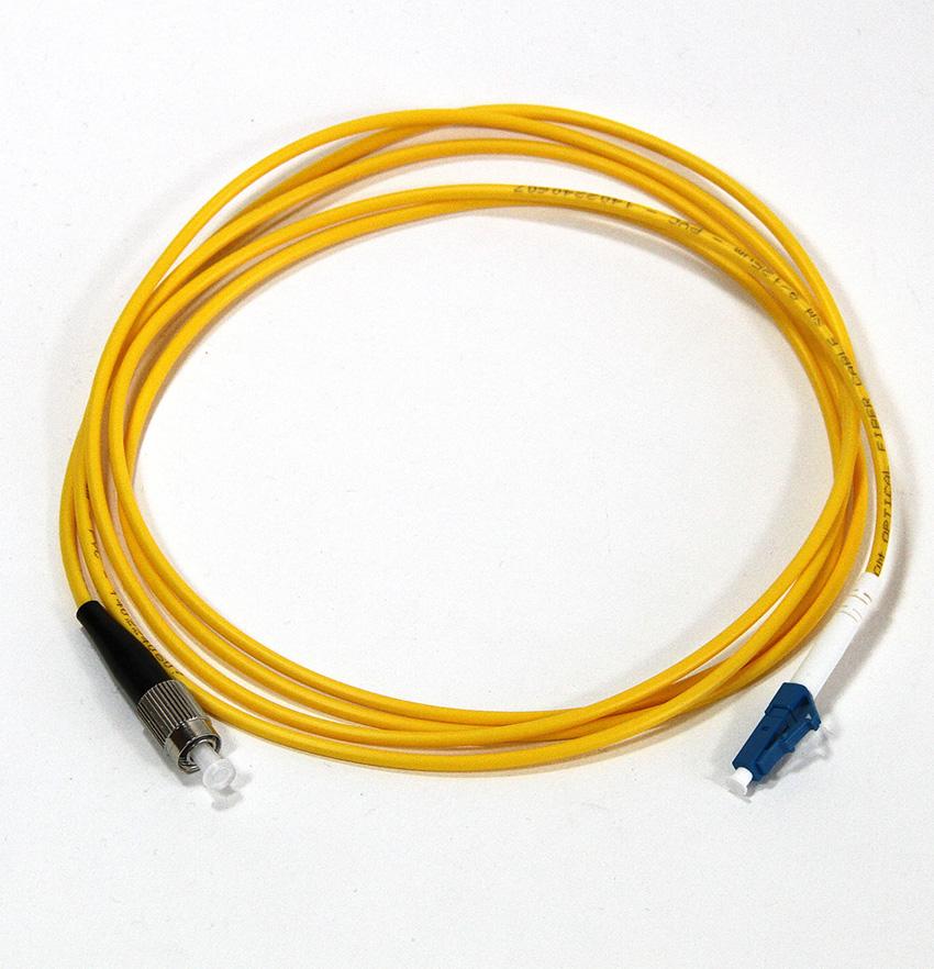 Кабель VCOM LC-FC, UPC, Simplex, VSU301-2M free shipping noyafa nf 906a portable optical power meter general connector sc fc st 70 to 10dbm