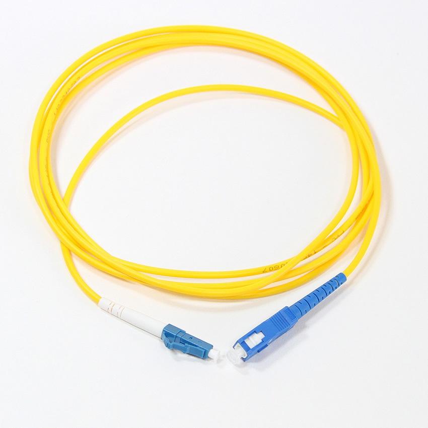 Оптический шнур Vcom, LC-SC,UPC,одномодовый,Simplex, оптический шнур vcom lc fc upc одномодовый simplex vsu301 1m