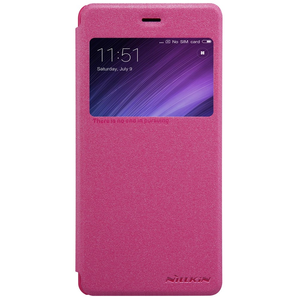 Чехол для сотового телефона Nillkin Книжка Nillkin Redmi 4x Pink (с окном) , 123057-2, розовый