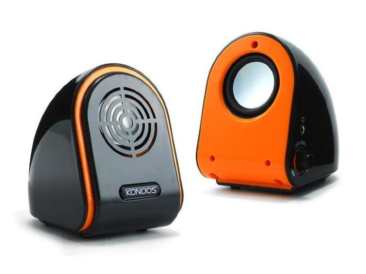 Акустическая система KONOOS KNS-PU50-R, KNS-PU50-R, оранжевый