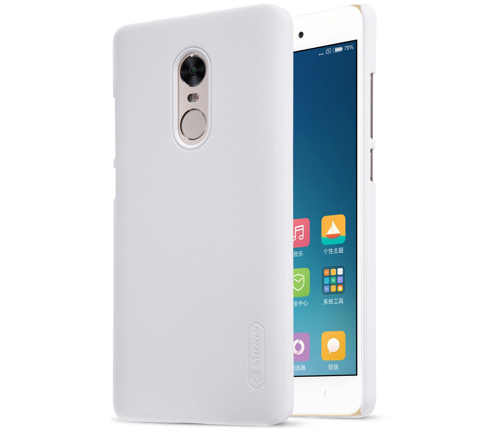 Чехол для сотового телефона Nillkin Накладка Frosted Xiaomi Redmi Note 4 White, белый чехол для сотового телефона nillkin накладка frosted xiaomi redmi 4a black черный