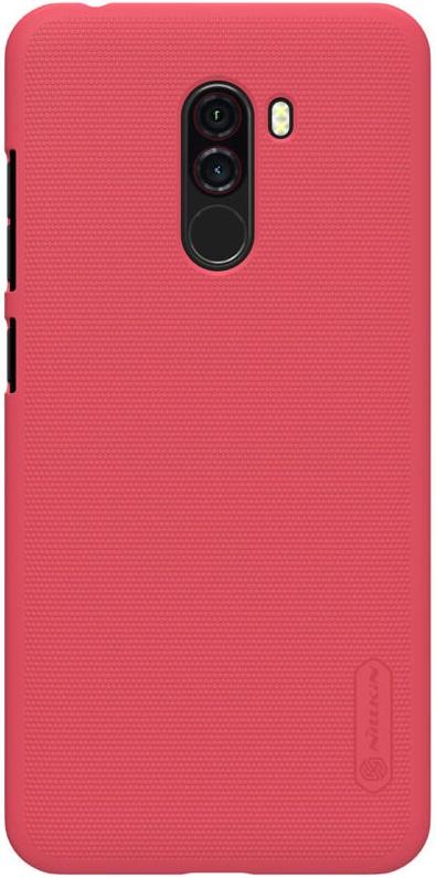 Чехол для сотового телефона Nillkin Накладка Frosted Pocophone F1 Red, красный