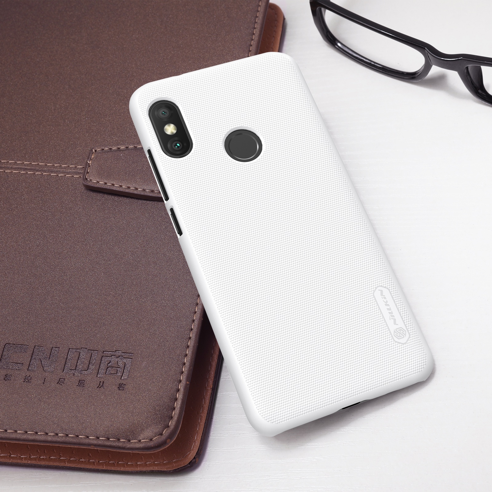Чехол для сотового телефона Nillkin Накладка Frosted Xiaomi Redmi 6 Pro/Mi A2 Lite White, белый силиконовая накладка nillkin для xiaomi mi a2 white