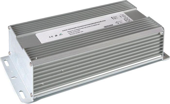 Блок питания Gauss для светодиодной ленты пылевлагозащищенный, 202023200, 200W, 12V, IP66, 1/5 блок питания для светодиодной ленты gauss 202003040