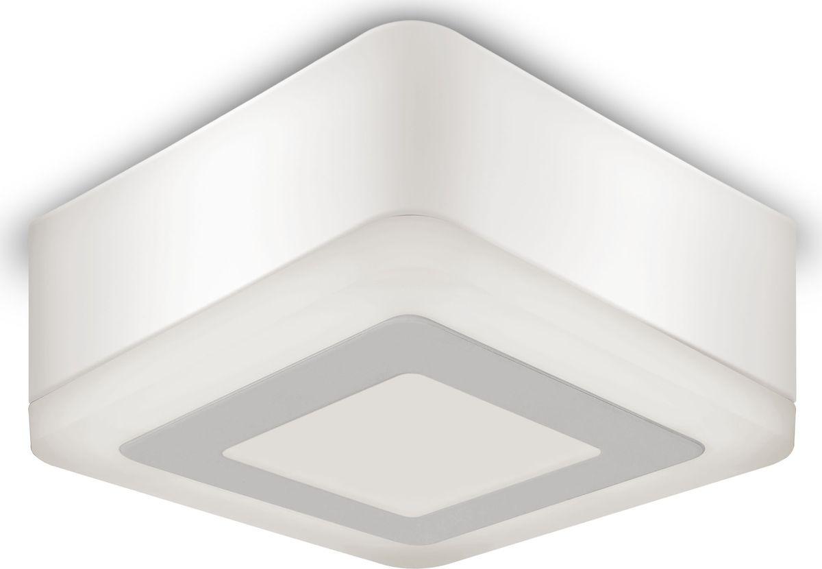 Накладной светильник Gauss Backlight LED, BL220, 3+3W, 3000K, 1/40 gauss встраиваемый светильник gauss backlight bl135 кругл узор черный gu5 3 3w led 4000k 1 40 bl135