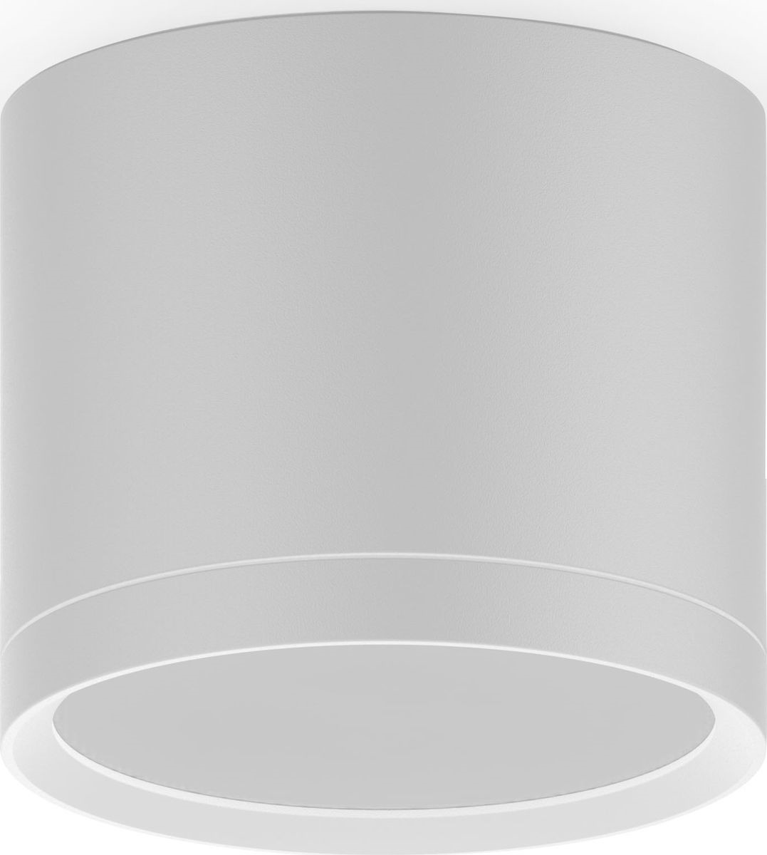 Накладной светильник Gauss LED с рассеивателем 10W, 3000K, 700Лм, 1/30, 10 Вт светильники для сада led