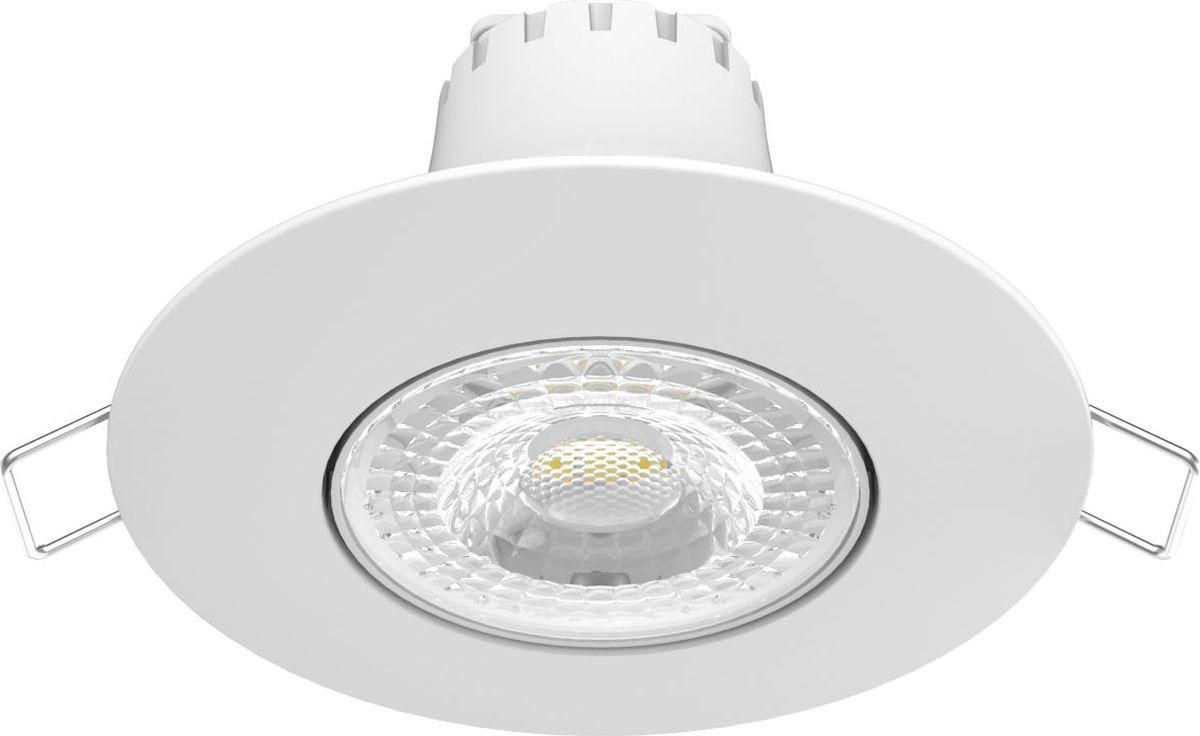 Встраиваемый светильник Gauss LED 6W, 500Лм, 2700K, 6 Вт светильники для сада led