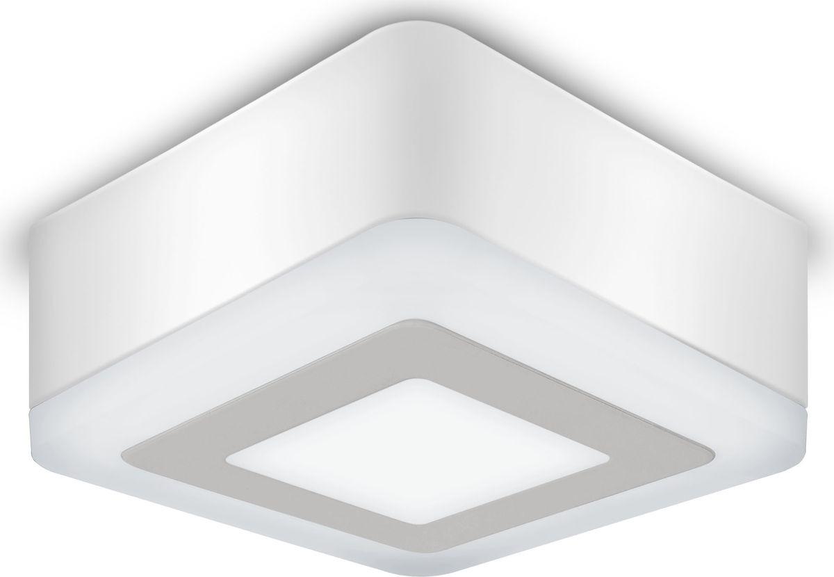 Накладной светильник Gauss Backlight LED, BL221, 3+3W, 4000K, 1/40 gauss встраиваемый светильник gauss backlight bl135 кругл узор черный gu5 3 3w led 4000k 1 40 bl135