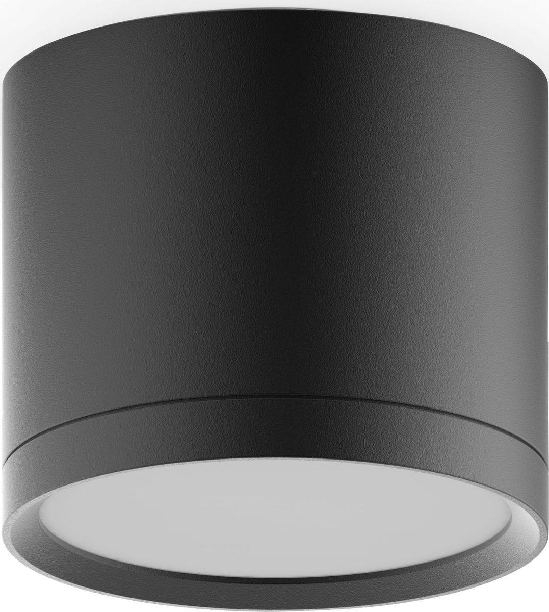 Накладной светильник Gauss Overhead LED с рассеивателем, HD017, 10W, 4100K, 720Лм, 1/30