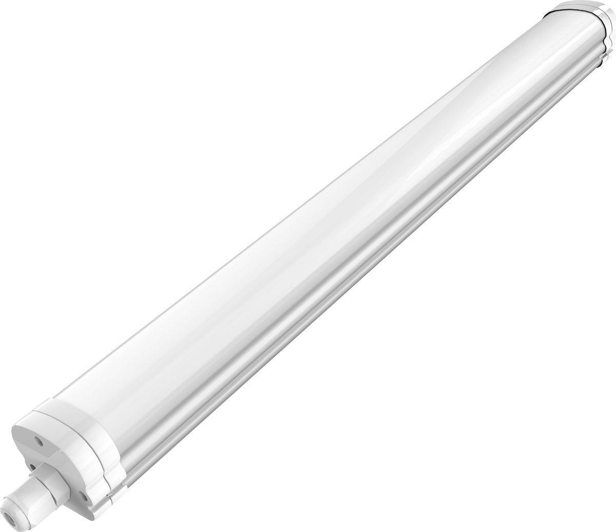 Светильник Gauss светодиодный, 843424218, IP65, 18Вт, 1200Лм, 4000К, 1/20843424218Светодиодные светильники Gauss рекомендованы для оформления освещения в квартирах, офисных учреждениях и зданиях.