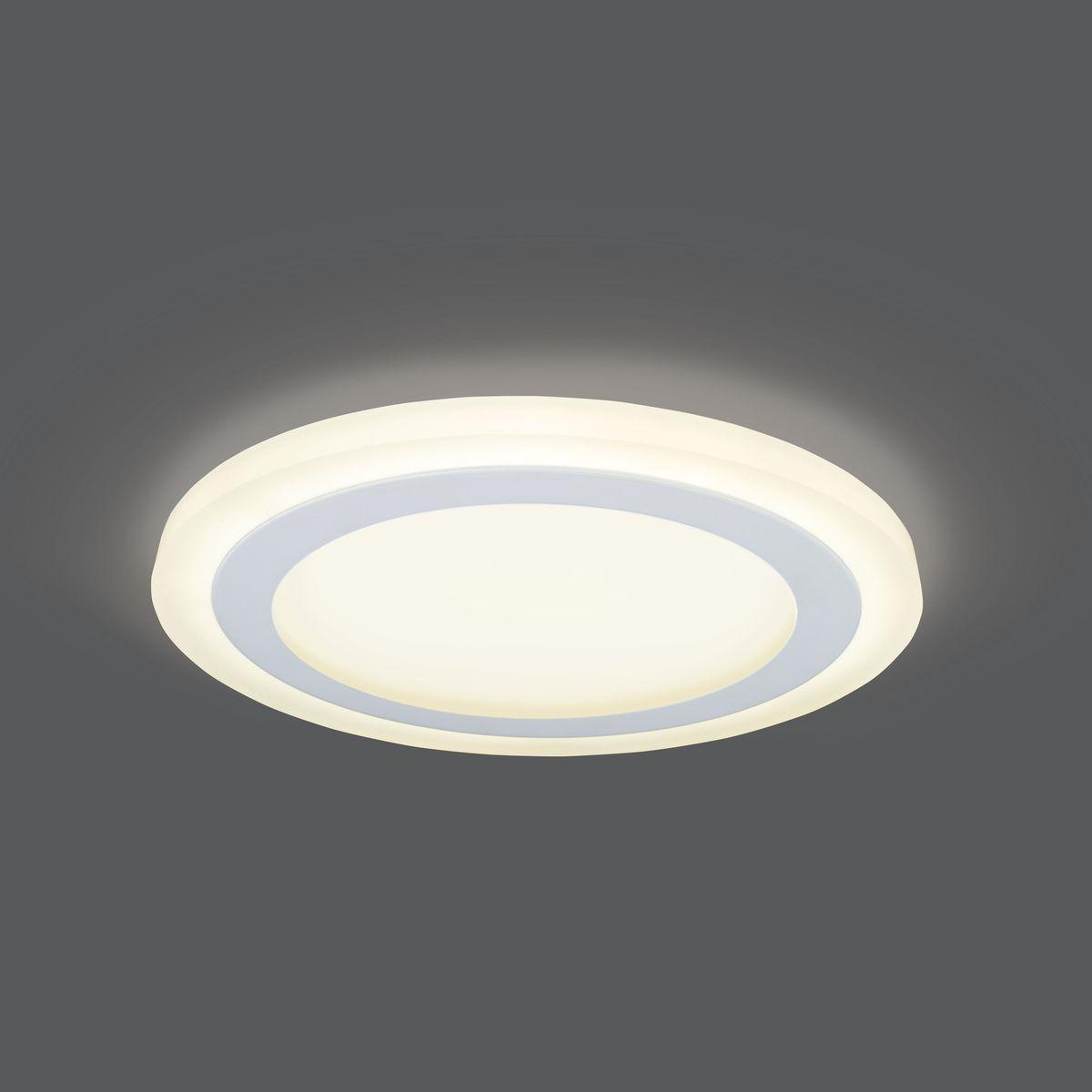Встраиваемый светильник Gauss LED 12+4W, 3000K, 960Лм, 1/20, 16 Вт светильники для сада led
