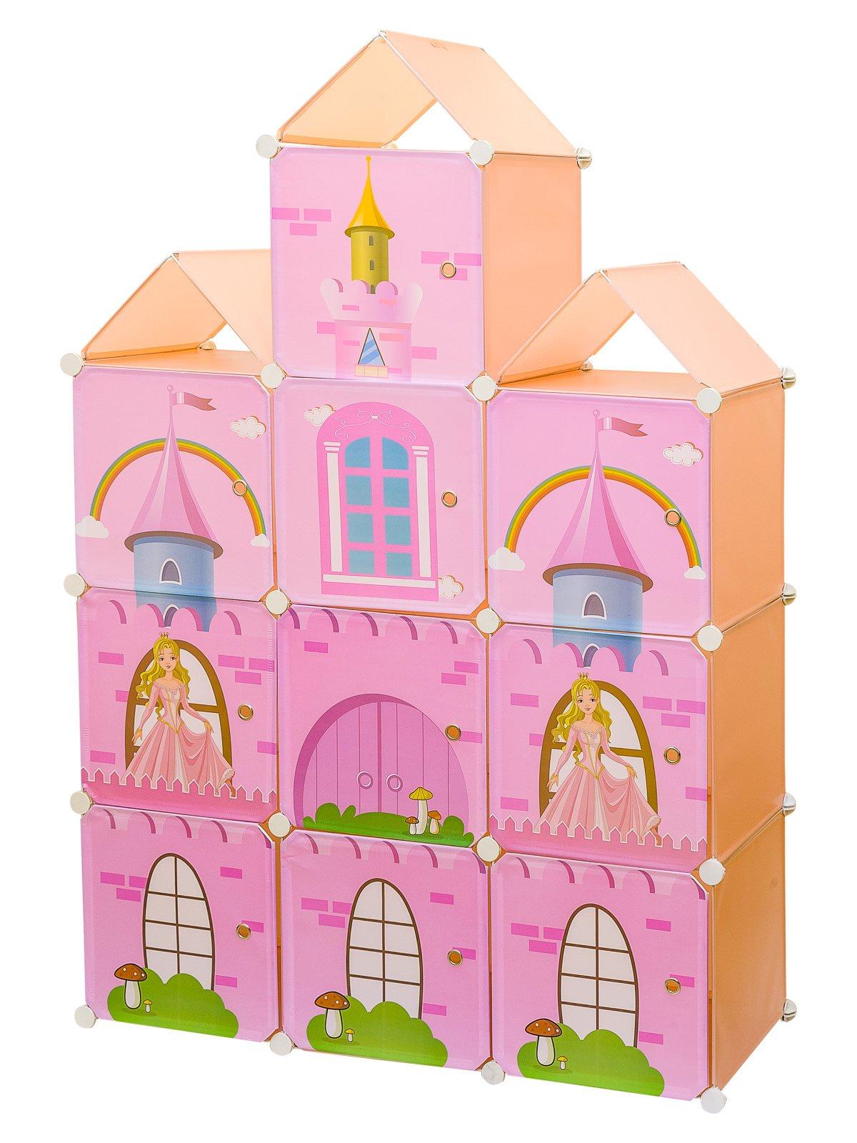 Шкаф HomeMaster Шкаф 62, SHM171, розовый