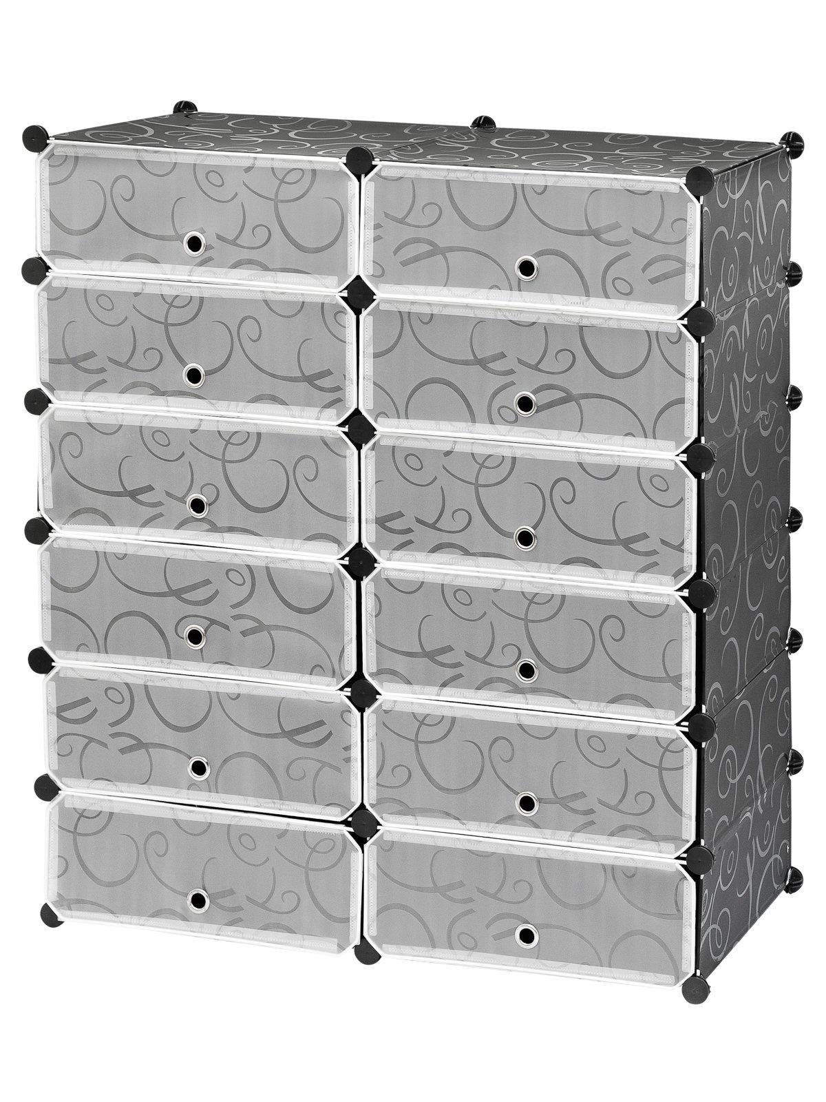 Шкаф HomeMaster Skaf 61, SHM170, черный, прозрачныйSHM170Шкаф для хранения вещей и обуви легко складывается и очень компактно хранится. Шкаф можно поставить дома или даче. Конструкцию шкафа можно уменьшить или изменить по своему желанию. Размер: 108x95x37 см.
