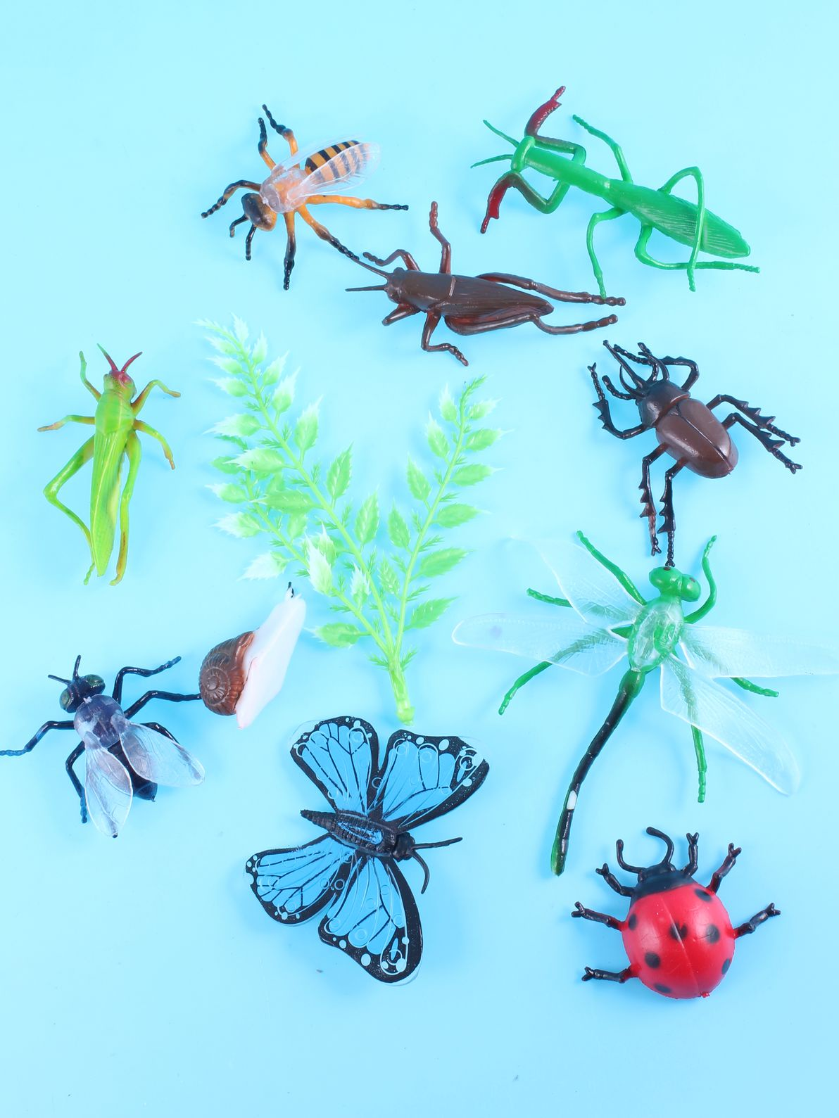 Игровой набор Радужки Насекомые, OS52 коричневый, голубой, зеленый радужки комплект дополнительных резиночек голубой