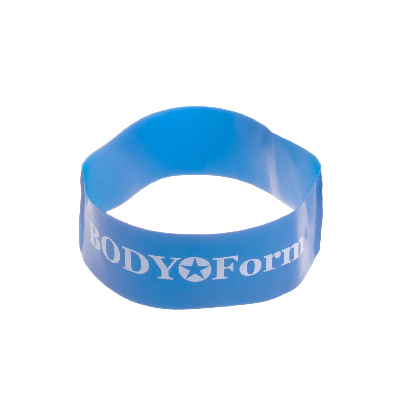 Эспандер BodyForm BF-RL50-46, BF-RL50-46-01, синий эспандер bodyform bf epl02 bf epl02 03 синий