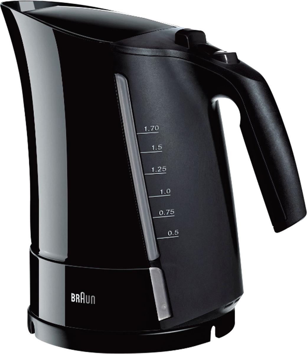 Чайник электрический Braun WK 500, 0X21010007, черный